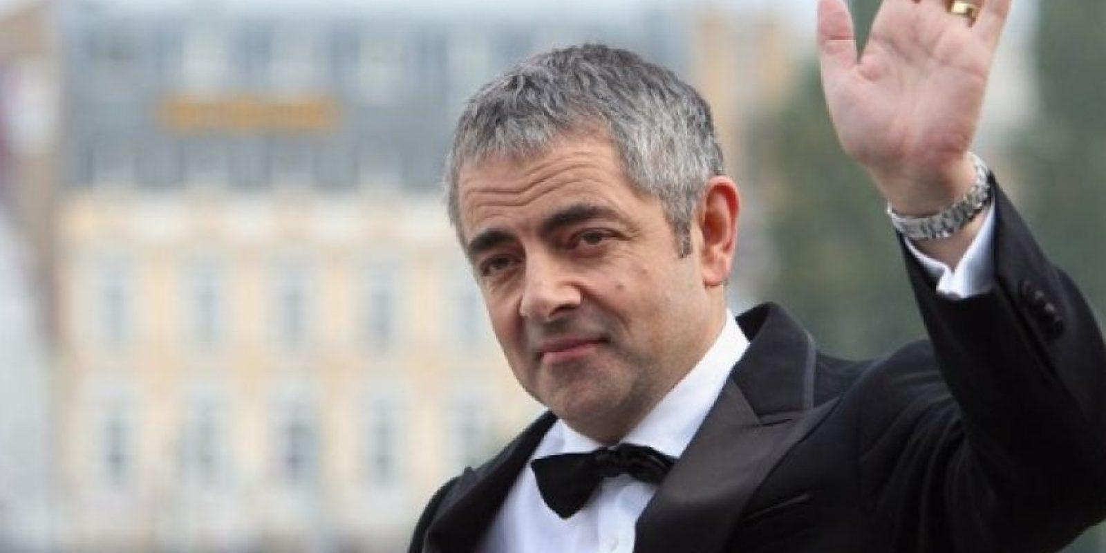 """1. Rowan Atkinson, conocido por su personaje de """"Mr. Bean"""" Foto:Getty Images"""