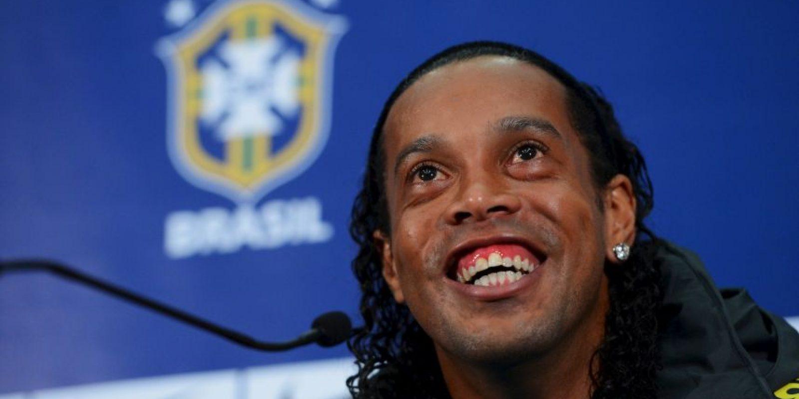 4. Ronaldinho Foto:Getty Images