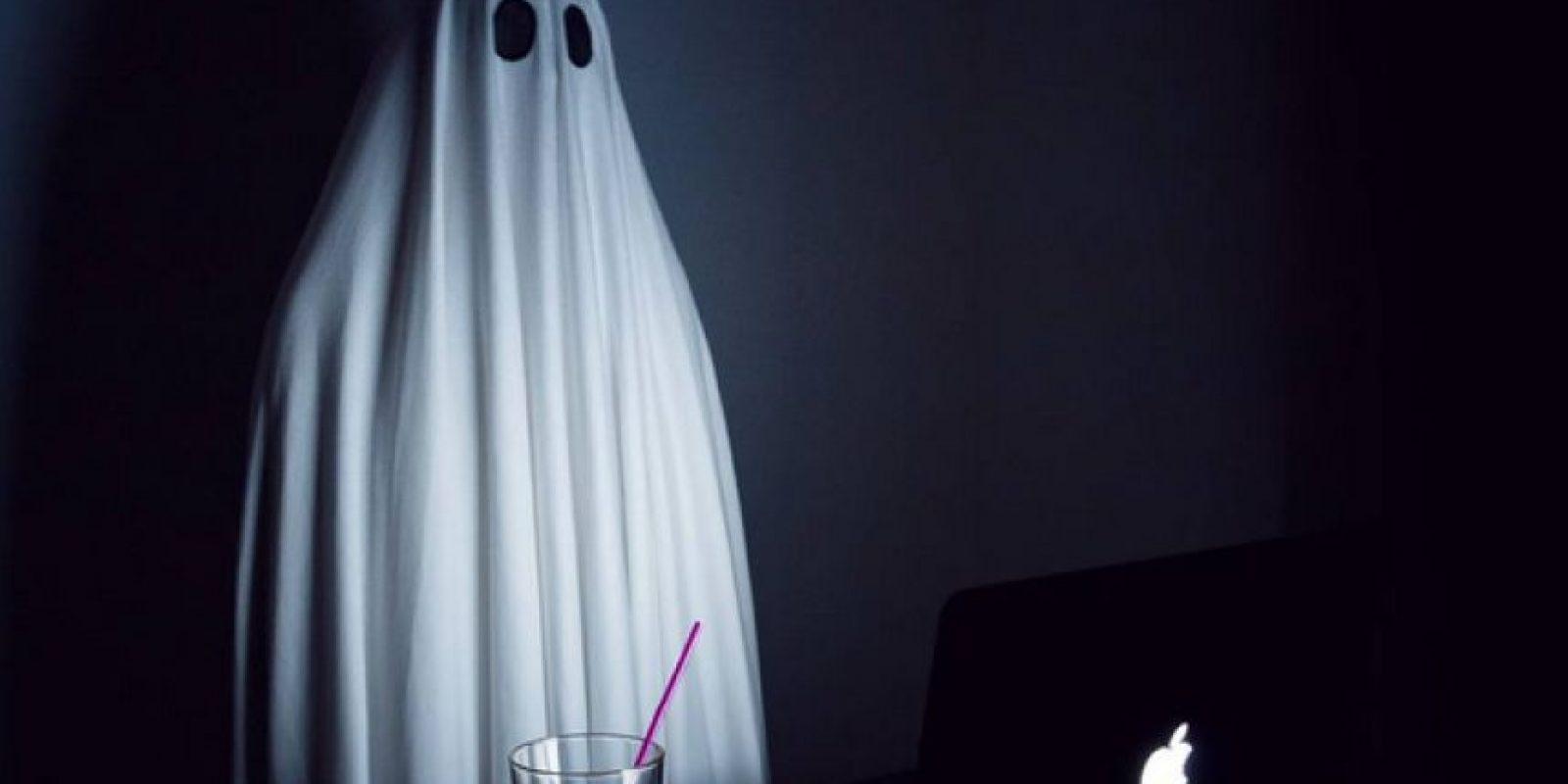 A propósito de esta época de Halloween se ha hecho famoso por sus publicaciones en Instagram. Foto:Vía Instagram.com/_mr.boo