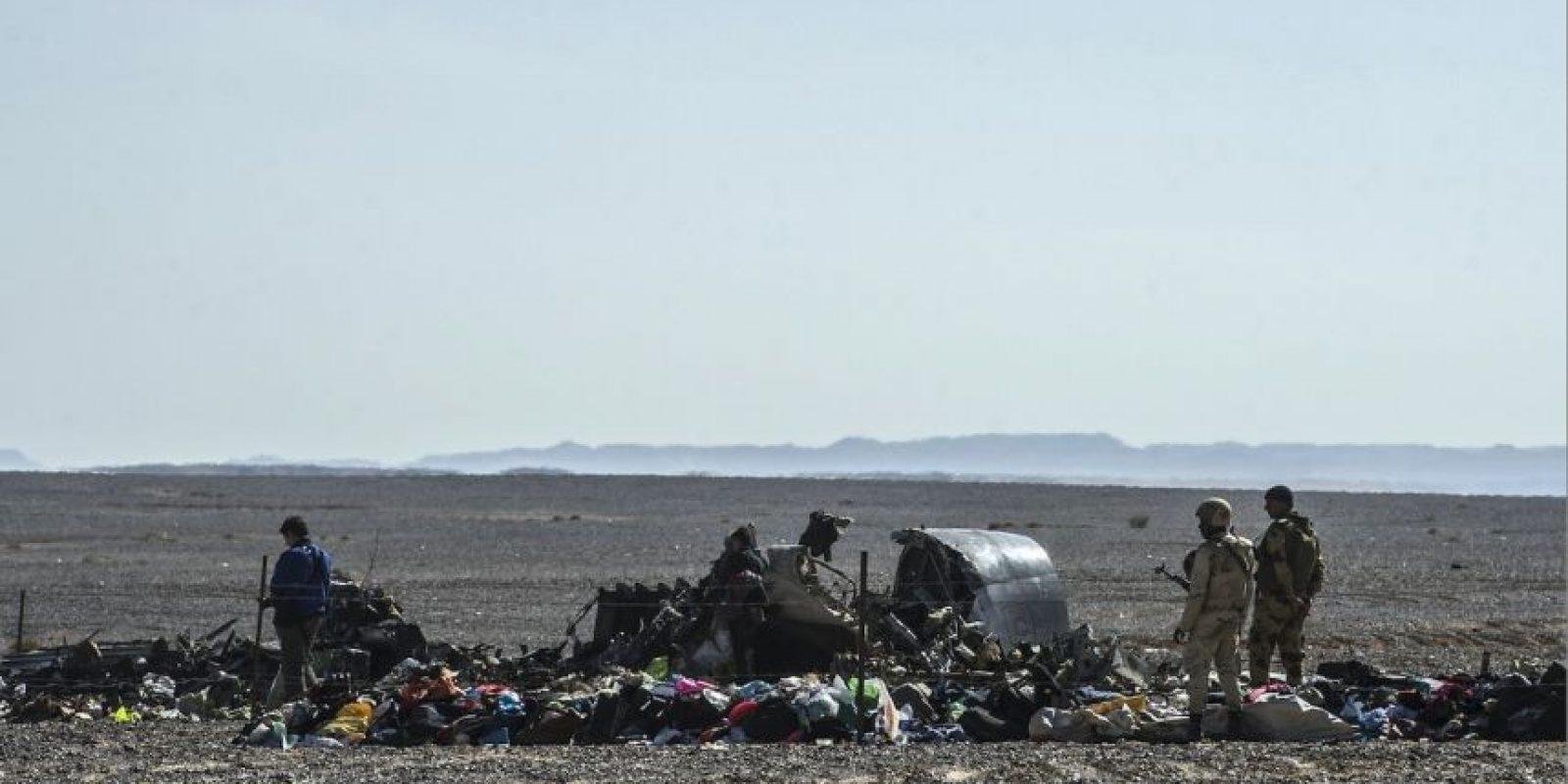Llevaba 217 pasajeros y 7 tripulantes Foto:AFP