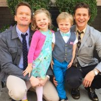 Neil Patrick Harris, David Burtka y sus gemelos Gadeón y Harper. Foto:Instagram/nph