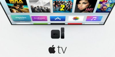 Apple TV se promociona como el futuro de la televisión. Foto: Apple