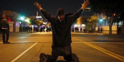 4. Un día después, el 9 de agosto, los ciudadanos comenzaron a hacer protestas ya que aseguraban que se trataba de un caso de discriminación racial. Foto:Getty Images