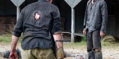 """""""Daryl"""" lo elimina cuando ya es un zombi Foto:AMC"""