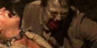 """""""El Gobernador"""" encerró a """"Andrea"""" junto a un moribundo """"Milton"""" que acabaría convertido en caminante y mordiéndola Foto:AMC"""