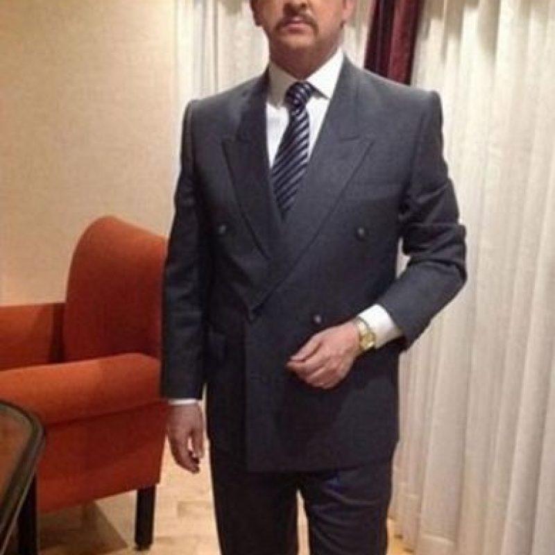 Ramiro Silva de la Garza era Raúl Salinas de Gortari, interpretado por Juan Ignacio Aranda. Foto:Telemundo