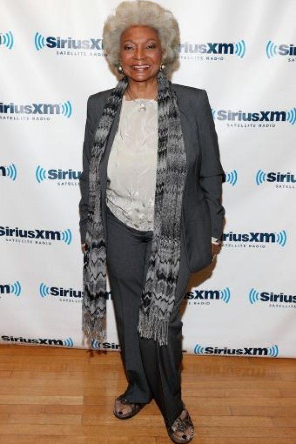 La actriz ahora tiene 82 años. Foto:Getty Images
