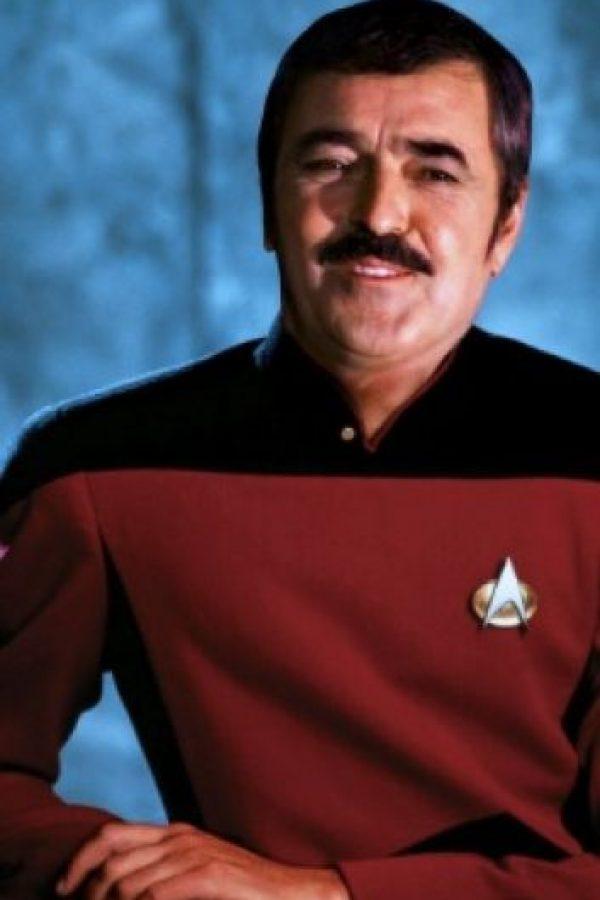 El 20 de julio de 2005, falleció víctima de una neumonía. Foto:Vía facebook.com/startrekmovies