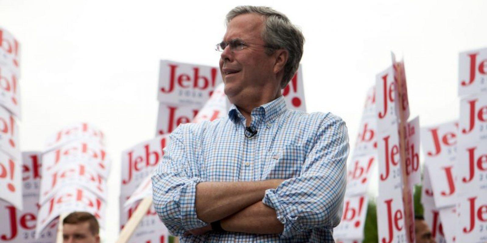 1. Guerra entre Jeb Bush y Marco Rubio- Foto:Getty Images