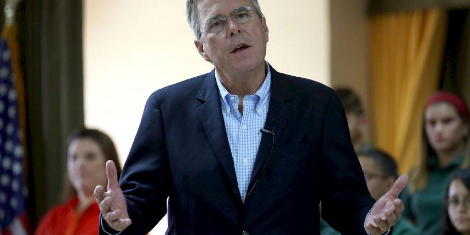 El senador mostró un buen desempeño e incluso fue el más buscado en Google durante el debate. Este propuso un sistema migratorio basado en méritos y se defendió de los ataques de Bush. Foto:Getty Images