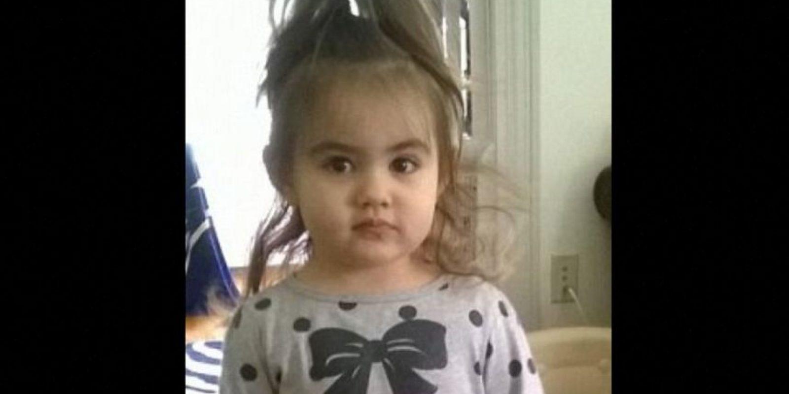 Se llamaba Bella Bond. Fue asesinada a los dos años y medio. Foto:Vía Facebook