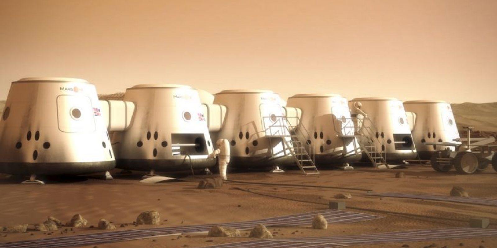 Una nueva tripulación de cuatro personas partirá cada dos años. Foto:Vía facebook.com/MarsOneProject