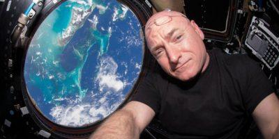 El astronauta Scott Kelly realiza una misión espacial de más de un año en la Estación Espacial Internacional. Foto:Vía nasa.gov