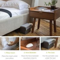 Puede colocarse en muchos lugares de la habitación. Foto: Smart Nora Inc.