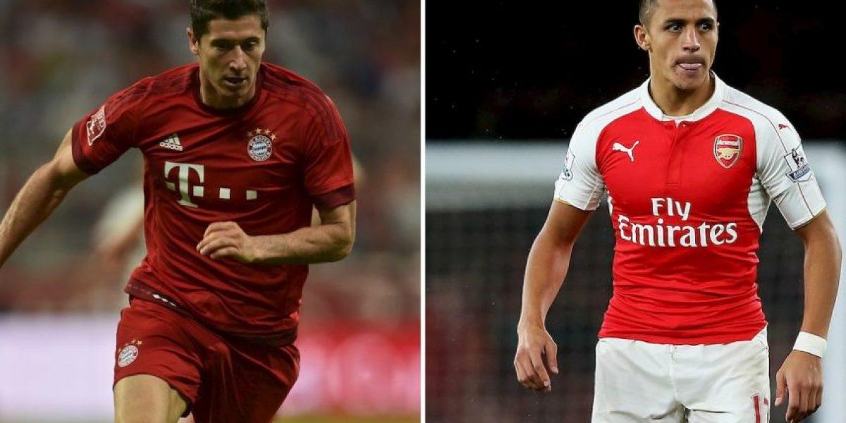 Champions League En Vivo: Bayern Múnich vs. Arsenal