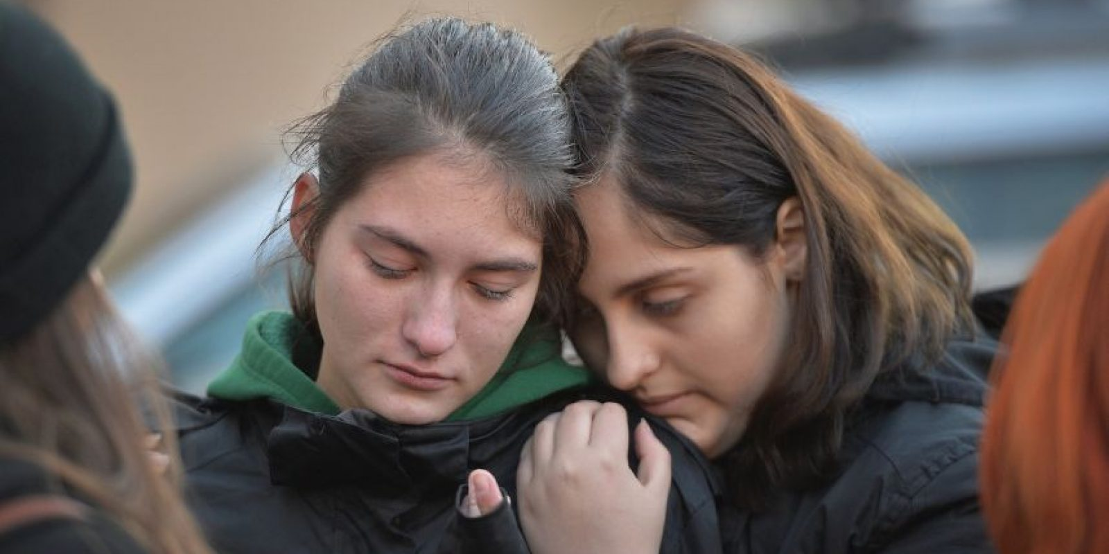 La cual fue insuficiente para los cientos de personas que fueron. Foto:AFP
