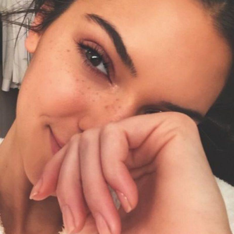 Así luce sin maquillaje Foto:vía instagram.com/kendalljenner