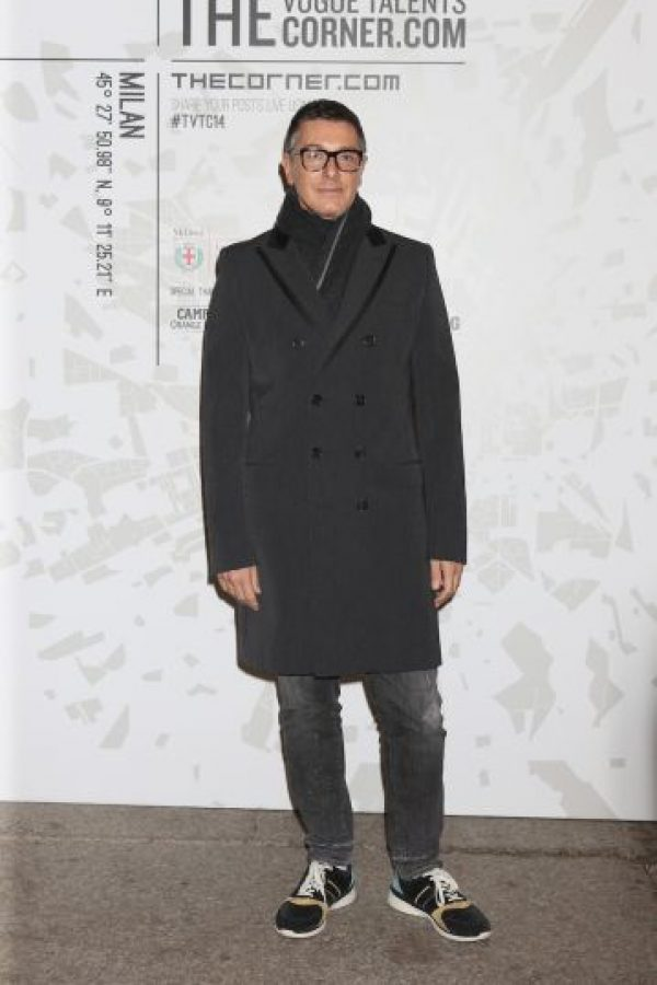 4. Stefano Gabbana (#1173 en la lista de los más ricos del mundo) Foto:Getty Images