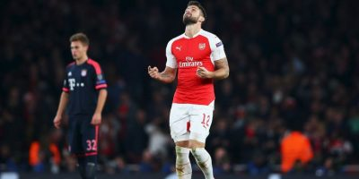 Pero Arsenal solo suma tres puntos Foto:Getty Images