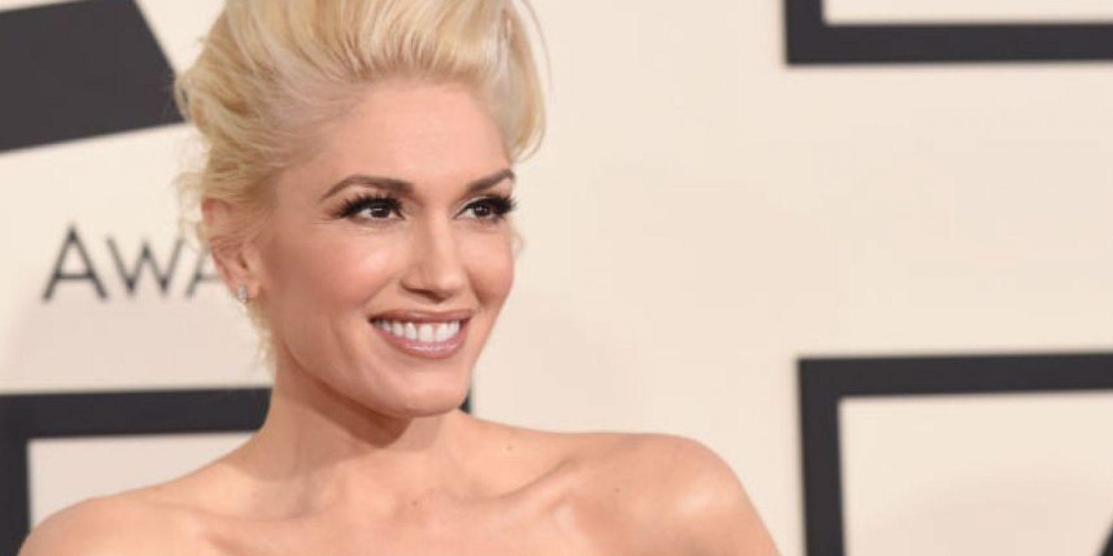 Gwen Stefani no siempre lució así. Foto:vía Getty Images