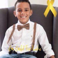 Lake fue diagnosticado con un tipo de leucemia muy agresiva en 2012, cuando tenía 5 años. Foto:Vía Facebook/PrayersForLakeBozman