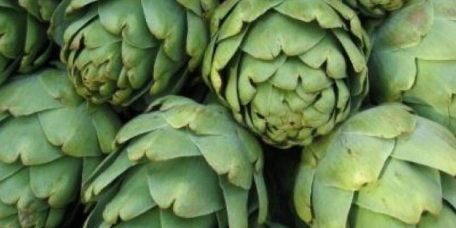 2. Alcachofa. LO QUE SE DICE: La alcachofa es excelente para bajar de peso por sus propiedades diuréticas y su alto contenido de fibra. Quema la grasa. Foto:Tumblr