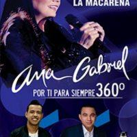 Concierto de Ana Gabriel, Martin Elias y Pipe Peláez.