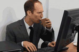 2. Priorizar sus tareas: la primera hora del trabajo es cuando las personas son más productivas. Foto:Giphy