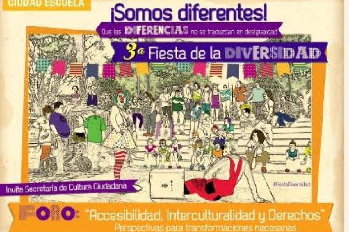 Fiesta de la Diversidad, charlas, muestra artesanal y presentaciones artísticas durante todo el día. Foto:Cortesía: Fiesta de la Diversidad