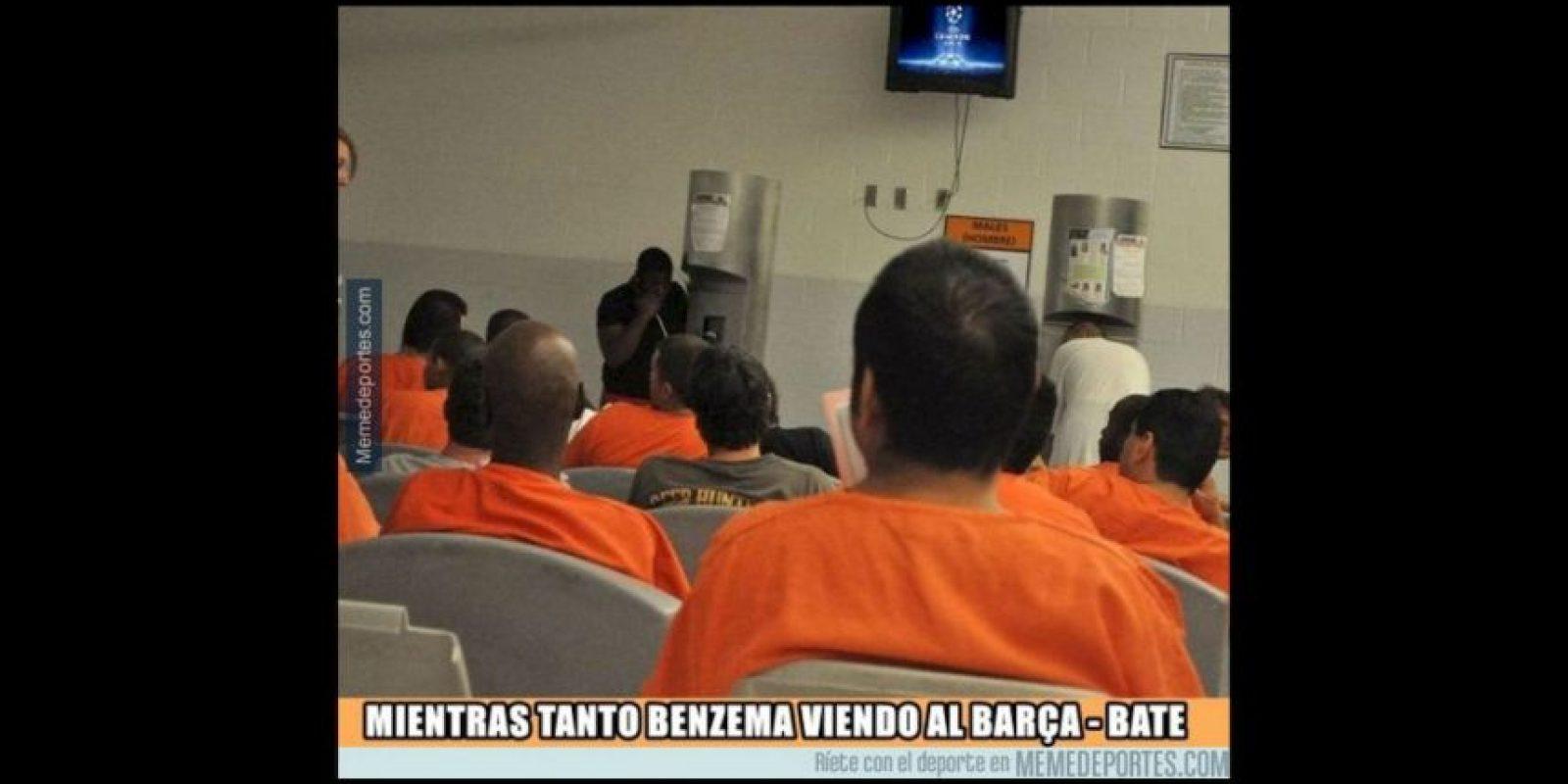 Los mejores memes por el escándalo sexual de Karim Benzema Foto:Twitter