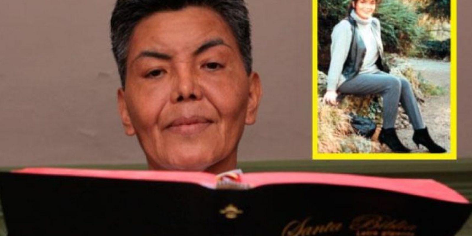 2. Fernando Ñaupari vivió como mujer durante 28 años Foto:Vía Twitter