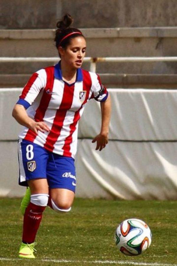 Ha jugado en equipos como Atlético de Madrid, Valencia y Espanyol Foto:instagram.com/brendaps19