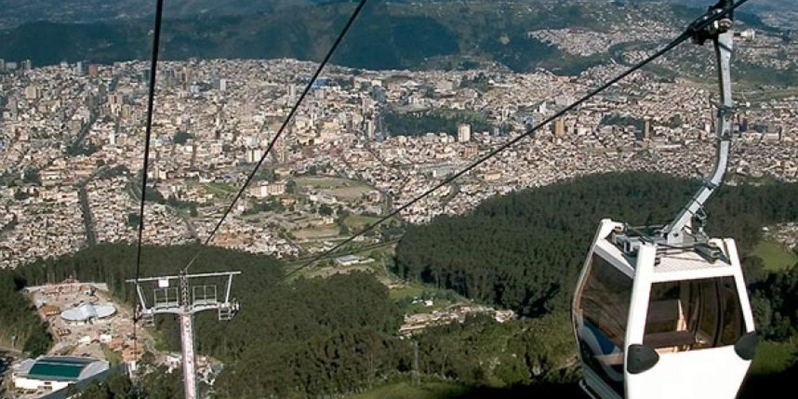Desde el teleférico de Quito, se puede observar cuatro picos nevados, su recorrido dura 10 minutos. Foto:Vía quito.com.ec