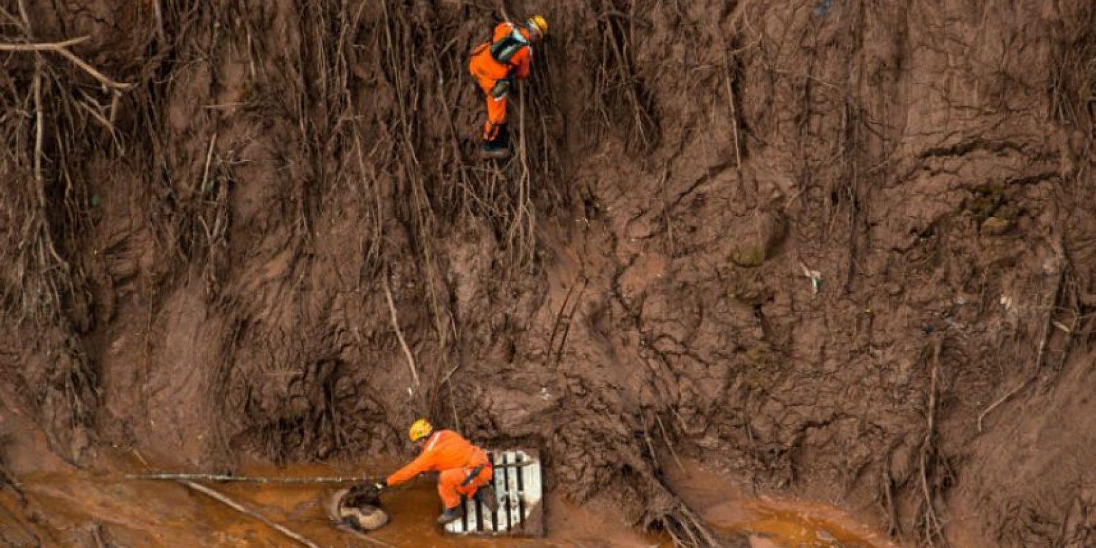 Equipos de emergencias trabajan en zona. Foto:AFP