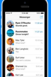 3- Facebook Messenger. Foto: Facebook