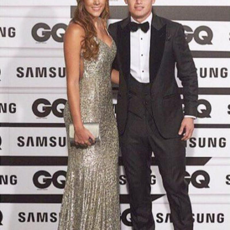Un diseño de Mendes by Sandra Mendes fue lo que elegió Daniela para la gala GQ. Foto:Instagram Daniela Ospina