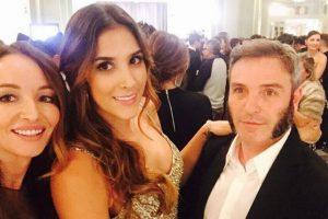 Con su amiga y asesora personal Ana Antic. Foto:Instagram Daniela Ospina