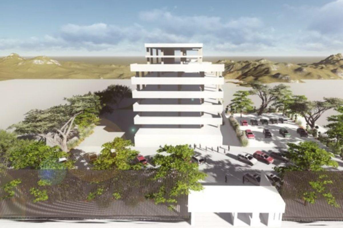 Así será la nueva apariencia del edificio Mónaco de ser aprobada la licencia de construcción.