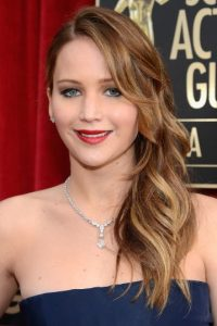 Jennifer Lawrence reconoció que no le gusta esperar en la fila del baño… Foto:Getty Images