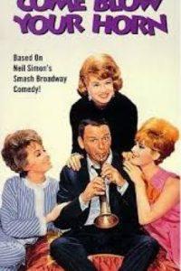 Gallardo y calavera es una comedia protagonizada por Frank Sinatra. La película se basa en la obra teatral homónima. Foto:The Paramount Vault