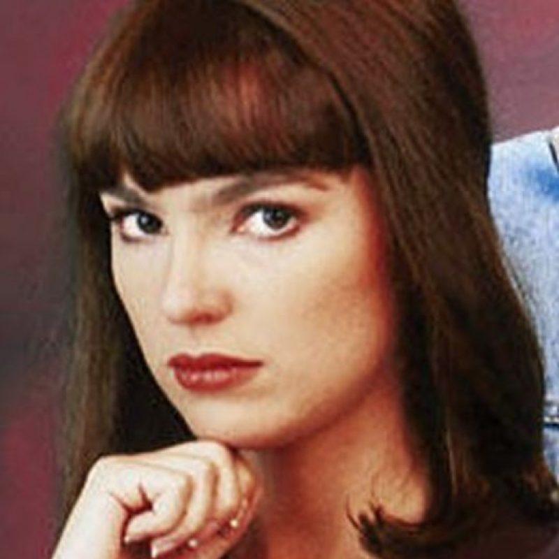 """Gabriela Hassel era """"Vanessa del Moral"""". Foto:vía Televisa"""