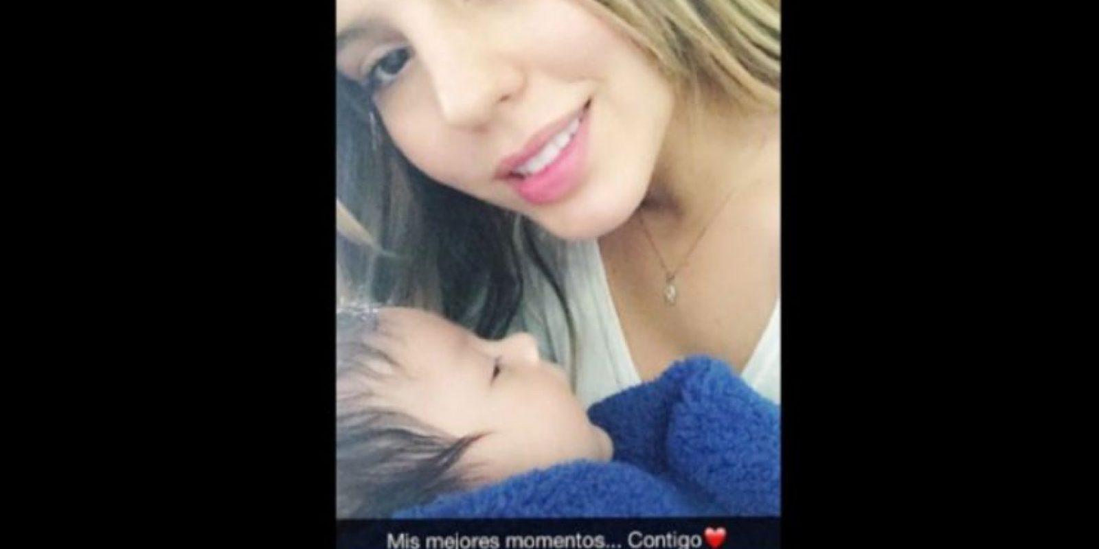 Ella sería la mamá del hijo de Kevin Roldán Foto:Instagram.com/linaarroyave8