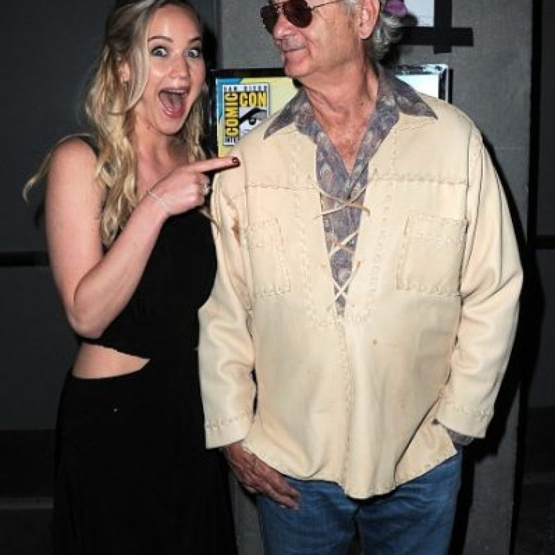 Su obsesión con Bill Murray Foto: Getty Images