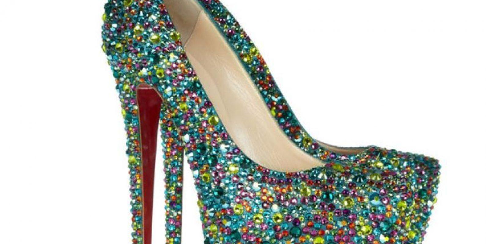 Estos zapatos de Christian Loboutin, 4 mil dólares (y hay más caros) Foto: Christian Loboutin