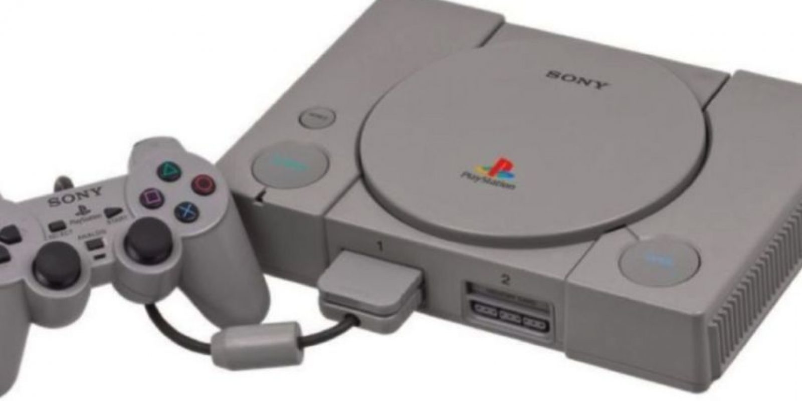 La evolución del PlayStation. PS1 Foto: Sony