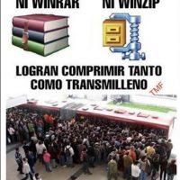 Foto:Tomada de Facebook/Transmileniadas