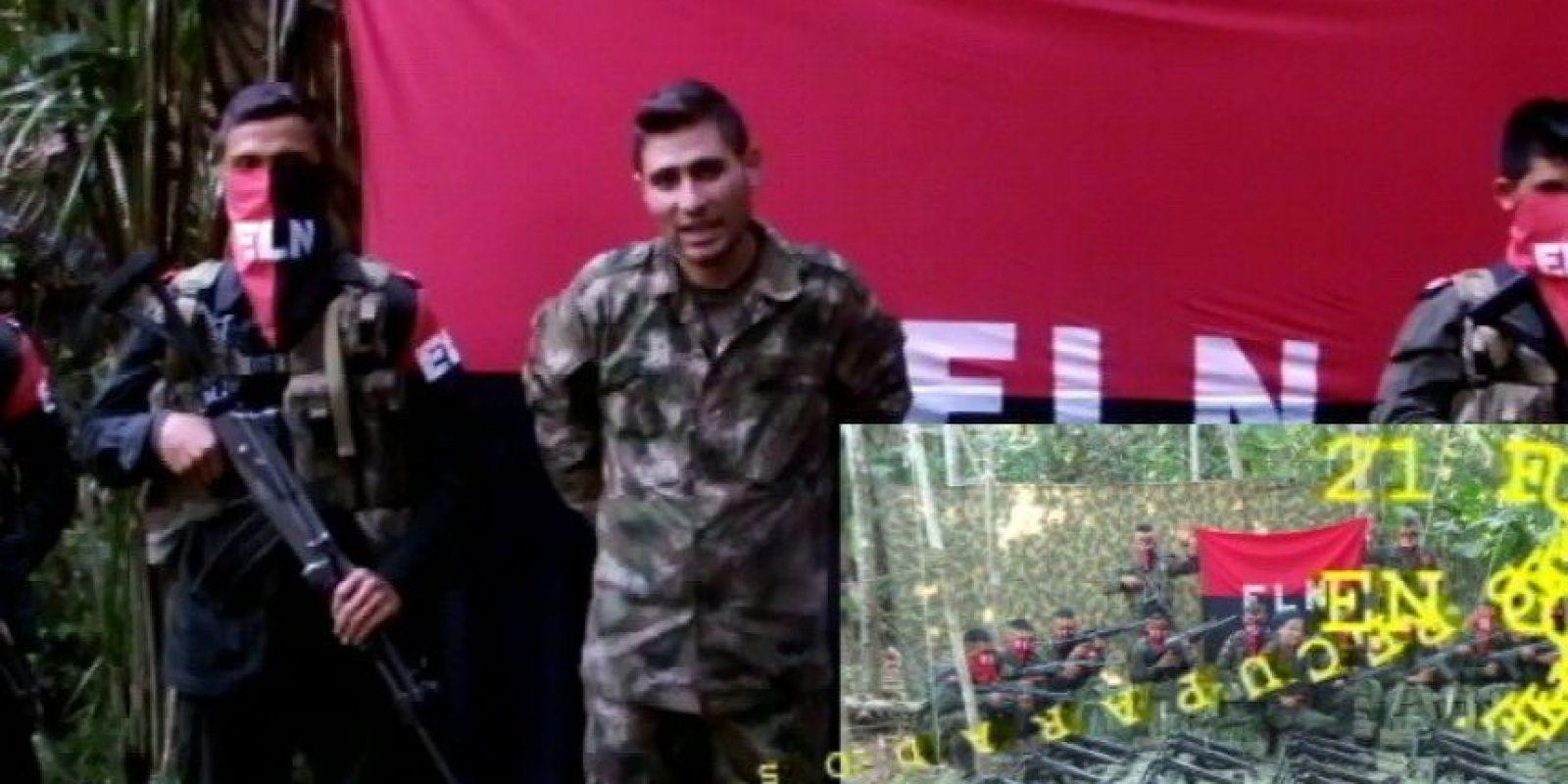 Andrés Pérez y Kleider Rodríguez están en poder de esa guerrilla desde el ataque en Güicán (Boyacá). Foto:Twitter @Elnranpal