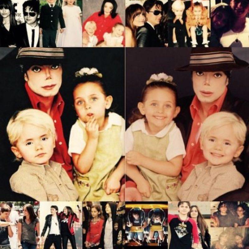 Muy poco se sabía de la existencia de los hijos de Michael Jackson hasta que tuvieron que aparecer luego de su muerte. Foto:vía instagram.com/parisjackson