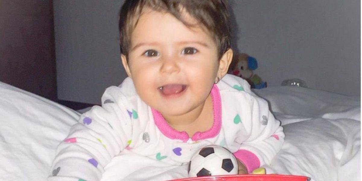 Fotos: Luna, la bella hija de Andrea Guerrero