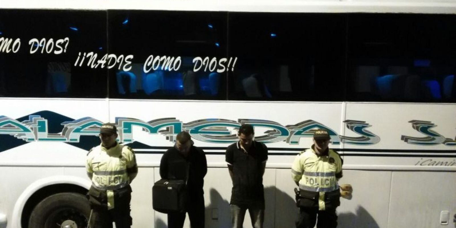 Foto:Policía Nacional